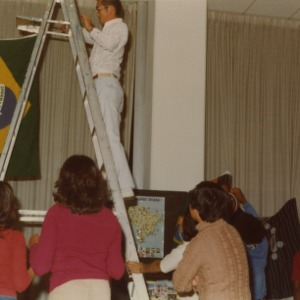 Brazil booth at international fair