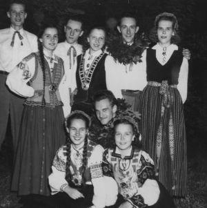 Latvian Dancers at Erdahl-Cloyd Student Union