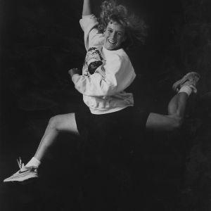 Gymnast Karen Tart portrait