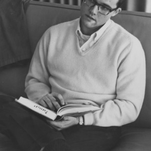 George Chambless studying