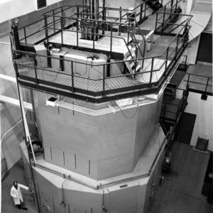 Interior of research facility