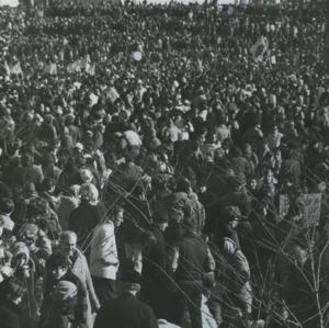 Anti-war demonstration at Washington D. C.
