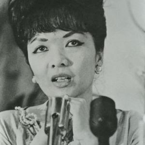 Tran Le Xuan (Madame Nhu) press conference
