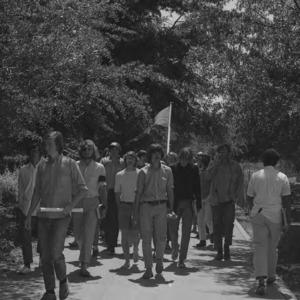 Student demonstration