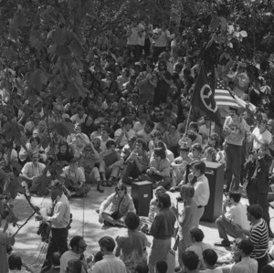 Student anti-war demonstration at Capitol