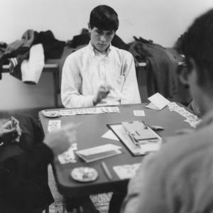 Card game at Erdahl-Cloyd Student Union
