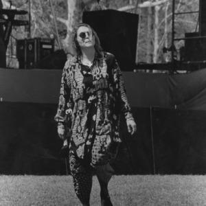 Dancer at outdoor concert