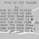 """Down In The Valley"" part 1 - 4-H Club song lyrics"