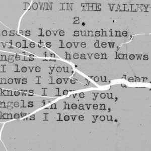 """Down In The Valley"" part 2 - 4-H Club song lyrics"