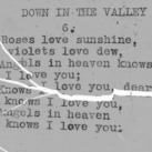 """Down In The Valley"" part  6 - 4-H Club song lyrics"