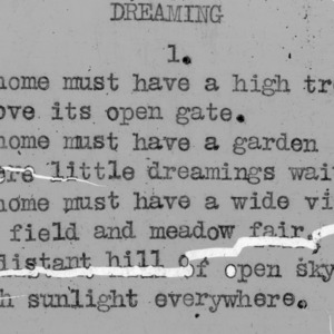 """Dreaming"" part 1 - 4-H Club song lyrics"