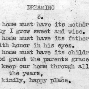 """Dreaming"" part 3 - 4-H Club song lyrics"