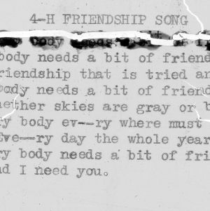 """4-H Friendship Song"" - 4-H Club song lyrics"
