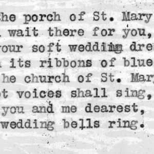 """The Bells Of Saint Mary's"" - 4-H Club song lyrics"