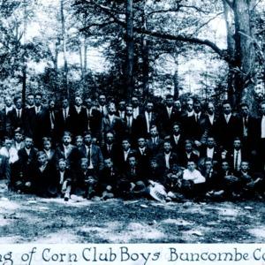 Meeting of Corn Club Boys, Buncombe Co., NC