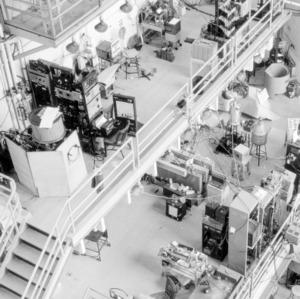 Burlington Engineering Laboratories equipment room