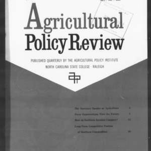 Agricultural Policy Review Vol. 1 No. 2