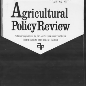 Agricultural Policy Review Vol. 2 No. 2