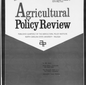 Agricultural Policy Review Vol. 5 No. 2