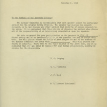 Department of Agronomy memoranda and correspondence, 1941-1951