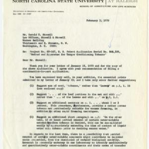 Patent disclosure records, 19690-1974