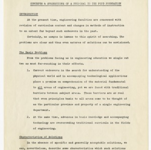 Ford Foundation records, 1960-1961