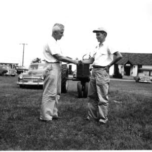 4-H tractor driving contest J.C. Ferguson