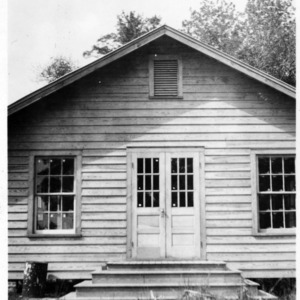 Askins Club House, Craven County.  Built in 1938 by WPA