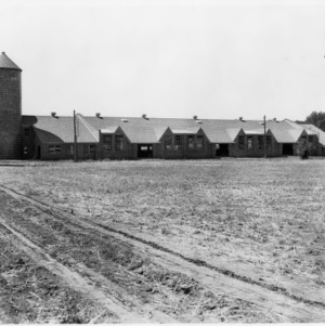 Agricultural Building with Silos