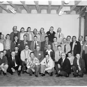 J. C. Ferguson's adult class group photograph