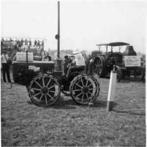 Old tractor display at North Carolina State Fair