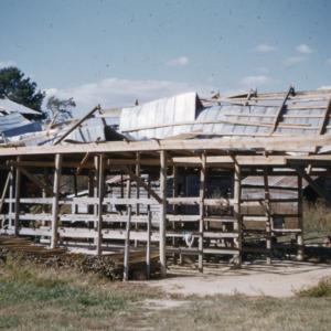 """""""Hazel"""" Damage, 1954"""