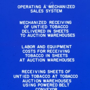Packaging - Conventional Field Scenes, Tobacco: general, 1967-1969