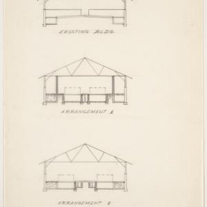 Alternative renovations for Swine Farrowing House, Unit 2 Farm, Raleigh, N.C.
