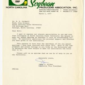 North Carolina Soybean Producers Association records, 1977-1979