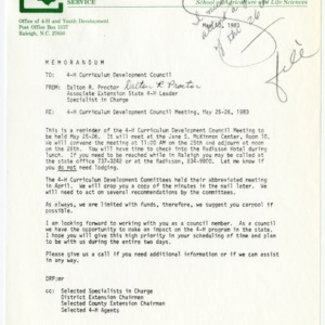 4-H Curriculum Development Council, 1983