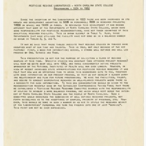 Pesticide residue records, 1961-1964