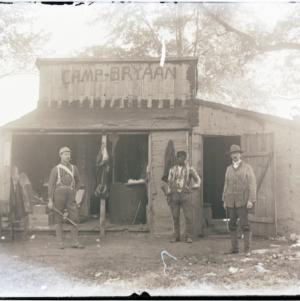 Men at Camp Bryaan