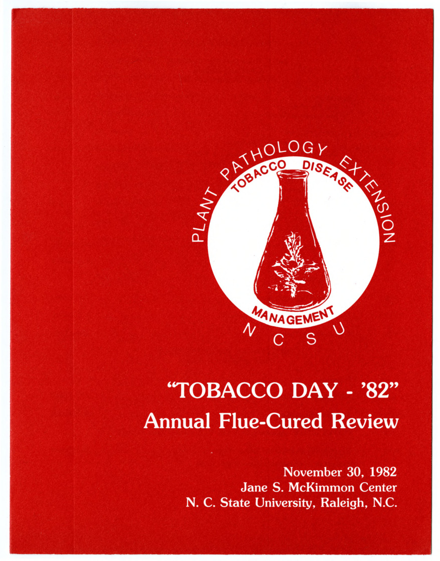 Tobacco Day, Annual Flue-Cured Review :: Departmental Information :: General Records