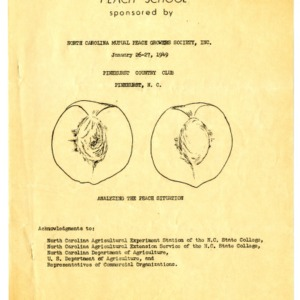 Peach School and Plant Pathology files