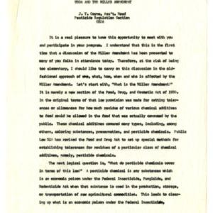Pesticide School files and 1956 Pesticide Handbook