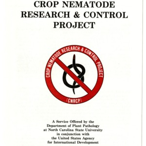 Crop Nematode Research & Control Project brochure