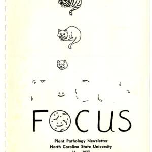 Focus: Plant Pathology newsletter