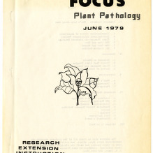 Focus : Plant Pathology :: Publications