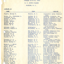1949 - 1954 :: Pesticide School :: General Records