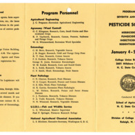 1955 - 1957 :: Pesticide School :: General Records