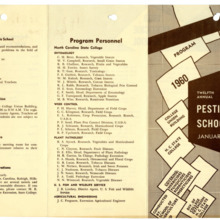 1960 :: Pesticide School :: General Records