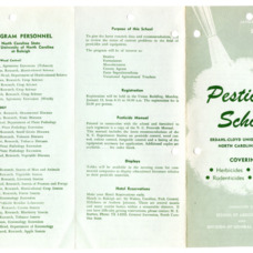 1964 :: Pesticide School :: General Records