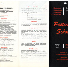 1965 :: Pesticide School :: General Records