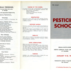 1967 :: Pesticide School :: General Records
